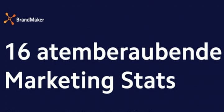 16 atemberaubende Marketing Stats DE