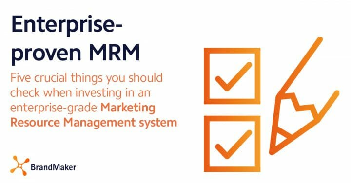 Enterprise-proven MRM