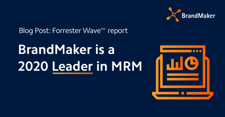 BrandMaker is a 2020 Leader in MRM per The Forrester Wave™