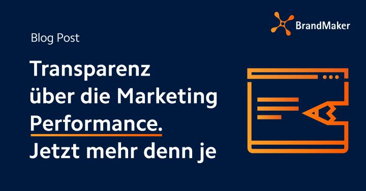 Transparenz über die Marketing Performance. Jetzt mehr denn je.