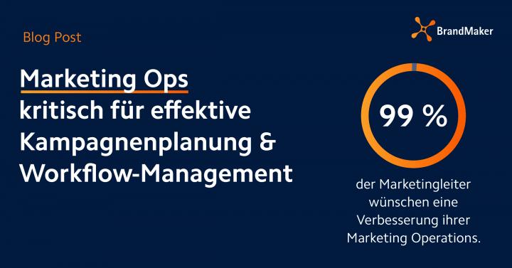 Marketing Ops kritisch für effektive Kampagnenplanung & Workflow-Management